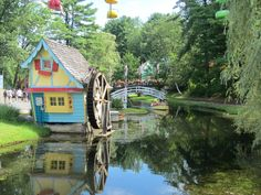 "Great Escape, New York - a beautiful Six Flags park. I remember when it was called ""Storytown"""
