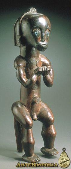 Figura de relicario. Cultura Fang (Guinea Ecuatorial/Gabón) - Obra - ARTEHISTORIA V2