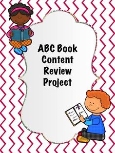 Have students create a subject-specific ABC book. Another great way to keep students engaged through the end of the year!