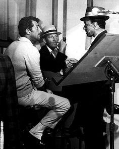 Dean Martin, Bing Crosby and Frank Sinatra