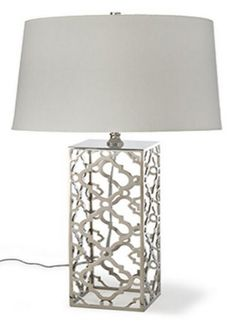 ARABESQUE TABLE LAMP :: SHADED TABLE LAMPS :: Ceiling lights Toronto, Bath and vanity lighting, Chandelier lighting, Outdoor lighting and kitchen lights :: Union
