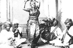 The dance that the Devadasis, particularly from the Tamil speaking regions performed, were known variedly as Kootu, Cinna Melam, Sadir, Dasi-attam and so on. #readlater