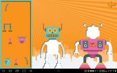 Speech Pathology and Technology for my Android powered World: Review of three apps: Robots Are Taking Over!  Three awesome robot apps that the kids will love!