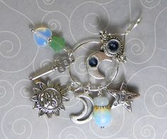 'Celestial Chatelaine Style Pendant with chain' is going up for auction at  2pm Tue, Jul 17 with a starting bid of $6.