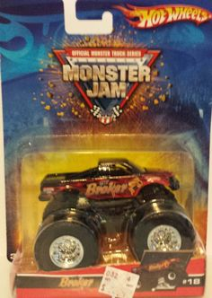 Amazon.com: 2006 HOT WHEELS MONSTER JAM the broker monster truck #18: Toys & Games