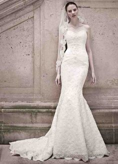 Trumpet Wedding Dresses With Lace