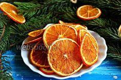 Фото Апельсиновые чипсы с имбирём