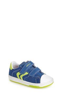 Boy's Geox 'Mania 9' Suede Sneaker