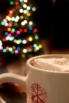 I can't wait to drink hot chocolate and listen to Christmas music!