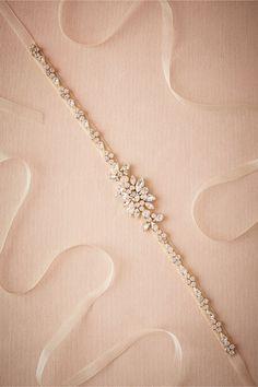 BHLDN Estrella Belt in  Bride Bridal Accessories at BHLDN