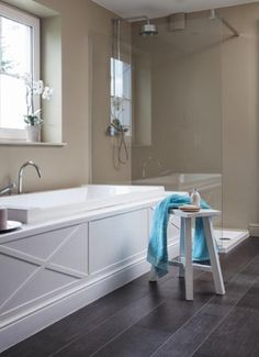 Badkamer schilderen | bathroom | Pinterest