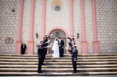 aboutdetailsdetails.com| Santa Barbara Wedding Planner | Santa Barbara Wedding | Bacara Resort and Spa | John & Joesph Photography | Mira Zwillinger Gown | Bride and Groom | Church Wedding | United States Air Force |