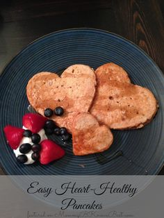 Easy Heart Healthy Pancakes Recipe