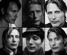 Mads Mikkelsen faces