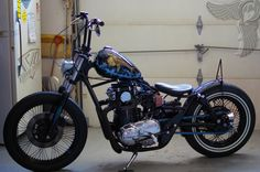Different Styles of Choppers   ... bobbers, choppers, cafe racers: xs650 brat bobber by visual impact