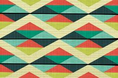 Bold geometric.. loom pattern?!