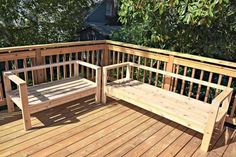 You can build your own outdoor sofa and loveseat out of cedar 2 x 4 for a fraction of the price at the store!