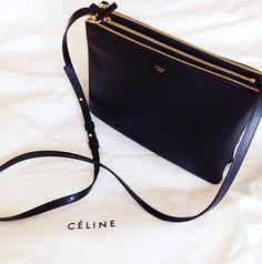 7b51a3c65c Celine Black Handbags - ShopStyle