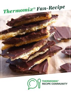 Recipe Salted caramel crackers by monicaih, learn to make this recipe easily in your kitchen machine and discover other Thermomix recipes in Baking - sweet. Other Recipes, Sweet Recipes, Vegan Christmas, Christmas Sweets, Macarons, Cake Stall, Thermomix Desserts, Biscuit Cookies, Brownie Recipes