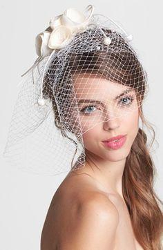 Vintage inspired birdcage veil