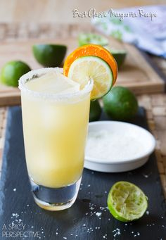 One of the best Margarita recipe you'll come across! l #CincodeMayo #Margaritas #Mexican #Cocktails