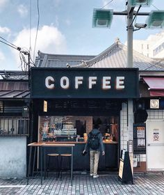 discount price Its coffee time! Shop all sorts of awesome coffee accessories at discounted price today . Link on bio: coffeetized coffeetized Cafe Shop Design, Small Cafe Design, Cafe Interior Design, Small Coffee Shop, Coffee Shop Bar, Coffee Cafe, Container Coffee Shop, Container Cafe, Mini Cafe