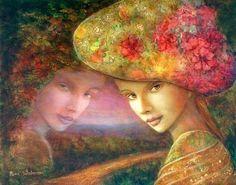 Il mondo di Mary Antony: Le donne sognanti di Rina Sutzkever