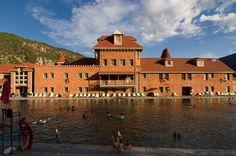 Historic Bathhouse | Glenwood Springs