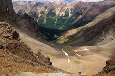 Le paysage sombre de la Hardrock 100, l'une des courses d'ultra trail les plus difficiles du monde.