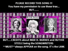 """Please record my song RUTHIE STEELE """"I LOVE MY FACEBOOK FRIENDS"""""""