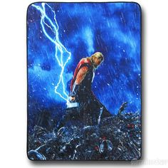 Images of Thor Age of Ultron Fleece Throw Blanket