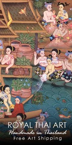 36 Best Thai art traditional images in 2019 | Thai art