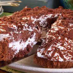 A Favorite recipe for chocolate boston cake. Perfect for your next party.. Boston Chocolate Cake Recipe from Grandmothers Kitchen.