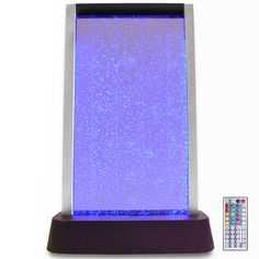 "Our table top 24"" LED bubble wall brings some zen into your living space!"