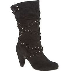 White Mountain Giggle Womens Slouch Boots