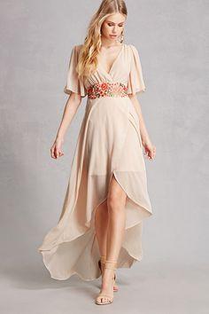 Soieblu Floral High-Low Dress