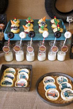 Vintage Cars Radiator Springs Birthday Party | CatchMyParty.com