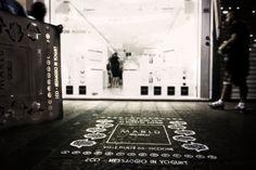 Green graffiti a Riccione per il lancio della collezione #ManoDiFatima. Green graffiti in Riccione for the launch of the collection #ManoDiFatima #hamsahand