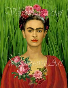 Arte messicana Frida Kahlo Collage-079 di VorontsovaART su Etsy