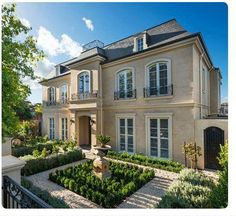 French Provincial Style Home