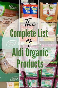 Aldi Organic, Organic Beef, Eating Organic, Organic Protein, Organic Cooking, Recetas Aldi, Aldi Shopping List, Organic Dinner Recipes, Aldi Recipes