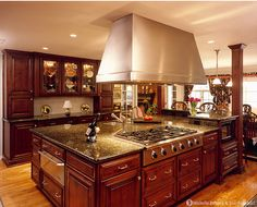 wow...I want a kitchen just like that!