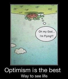 Een optimistische blik