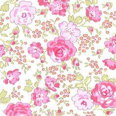 Tissu Liberty Felicité rose
