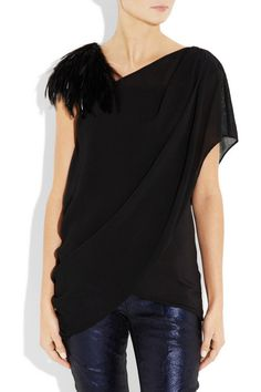 kind of amazing. Helmut Lang top.