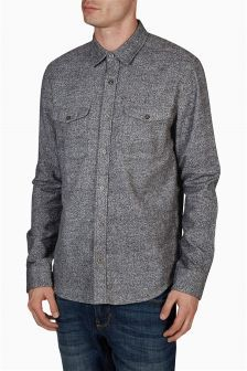 Brushed Twin Pocket Shirt