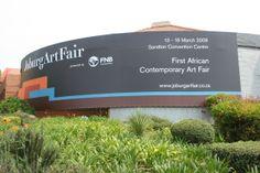 Installed by Scaff-Tech, Johannesburg. www.scafftech.co.za Convention Centre, Art Fair, Facade, Concrete, Contemporary Art, Banner, Wraps, Tech, Building