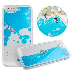 "iPhone 6 Case-Yerwal Aquarium Fish Tank Dynamic Liquid Quicksand Hard Case Cover For iPhone 6 4.7""-Blue:Amazon:Cell Phones & Accessories"