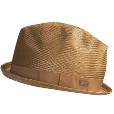 Bailey of Hollywood Alistar Fedora Hat (For Men) in Toast