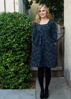 Miss Make: Autumn Washi Dress. Washi Dress pattern from Made By Rae.